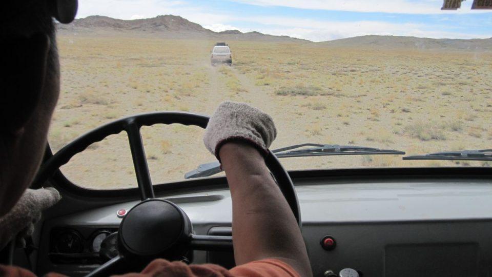 Na cestě do Tachin Talu