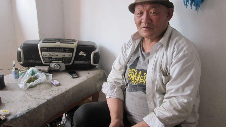 Švec Badbot z malého mongolského města Kvod