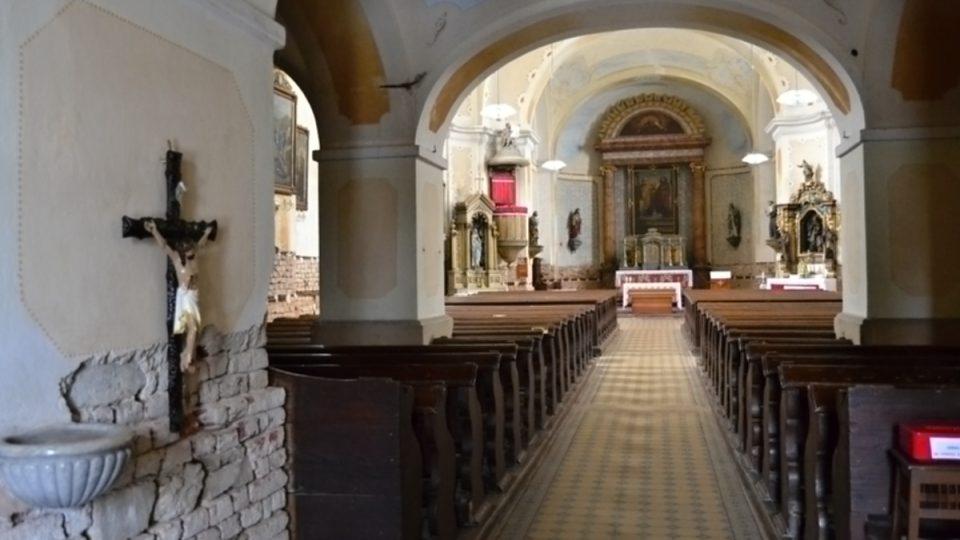 Stavba, interiér i movité zařízení kostela jsou v evidenci památek chráněných státem