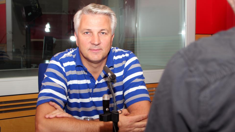 Zdeněk Schwarz, ředitel Zdravotnické záchranné služby hlavního města Prahy, odpovídal na otázky Martina Veselovského