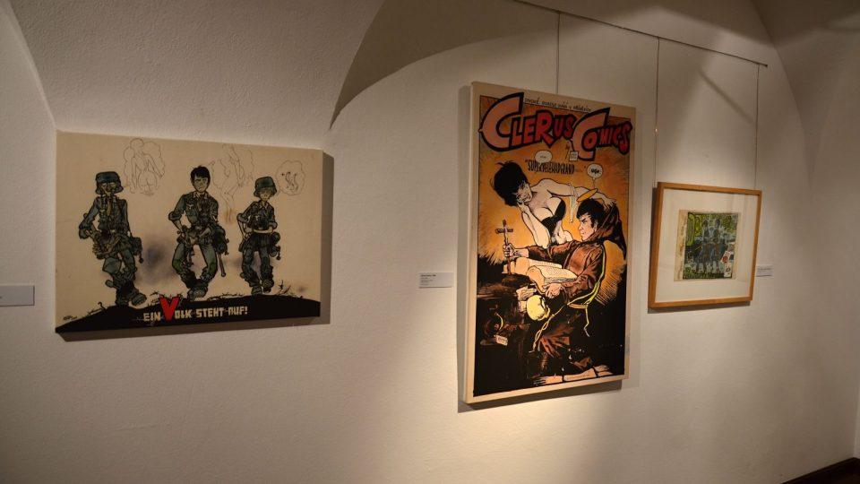 Výstava Káji Saudka v Českých Budějovicích