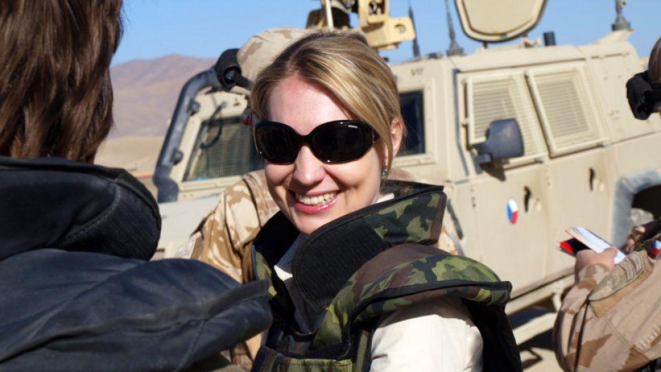 Lenka Klicperová v Afghánistánu