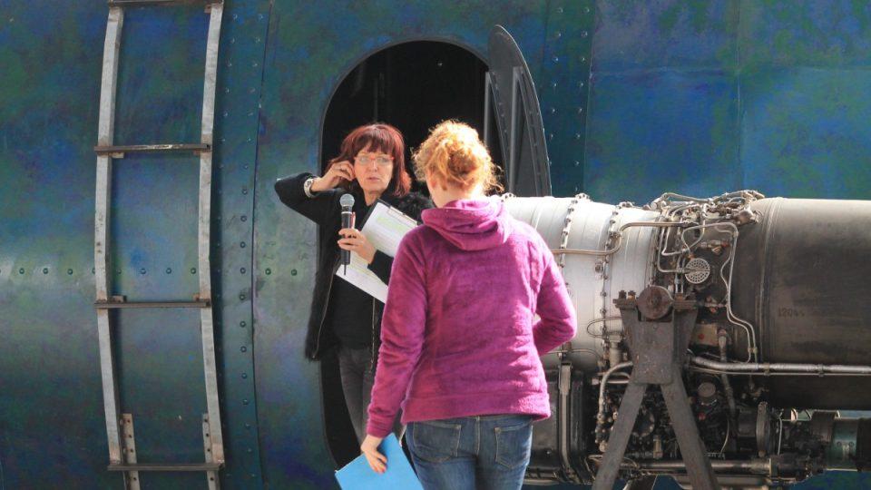 Před ponorkou Nautilus v Malém světě techniky