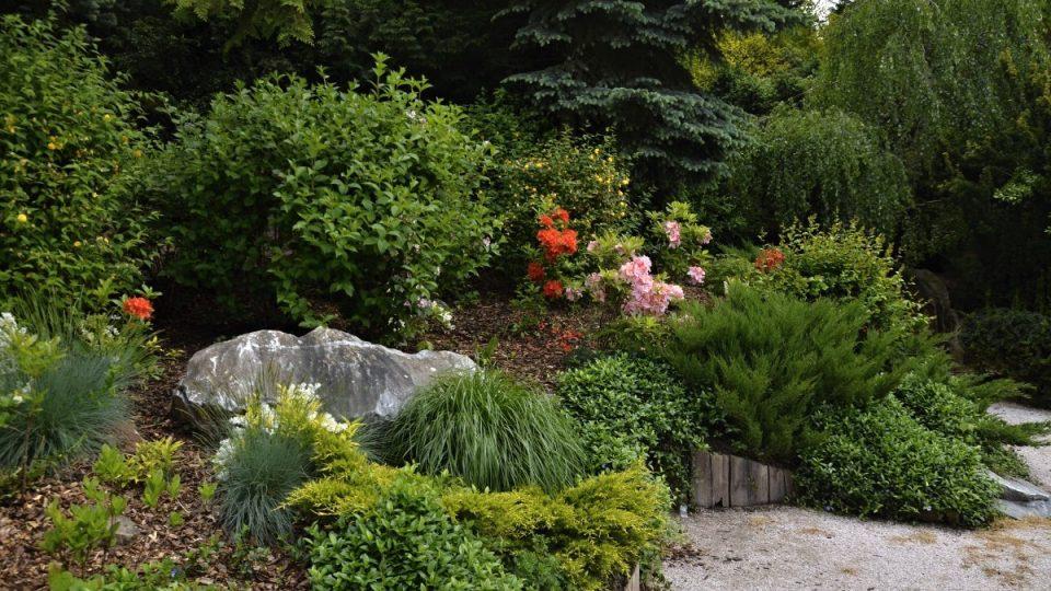 Alpinium v Jiráskových sadech v Hradci Králové