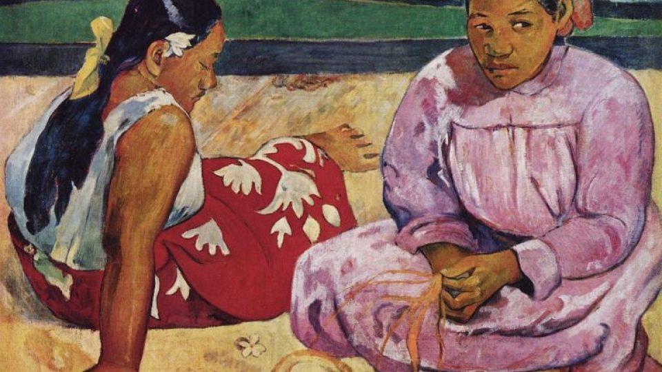 Paul Gauguin Tahiťanky