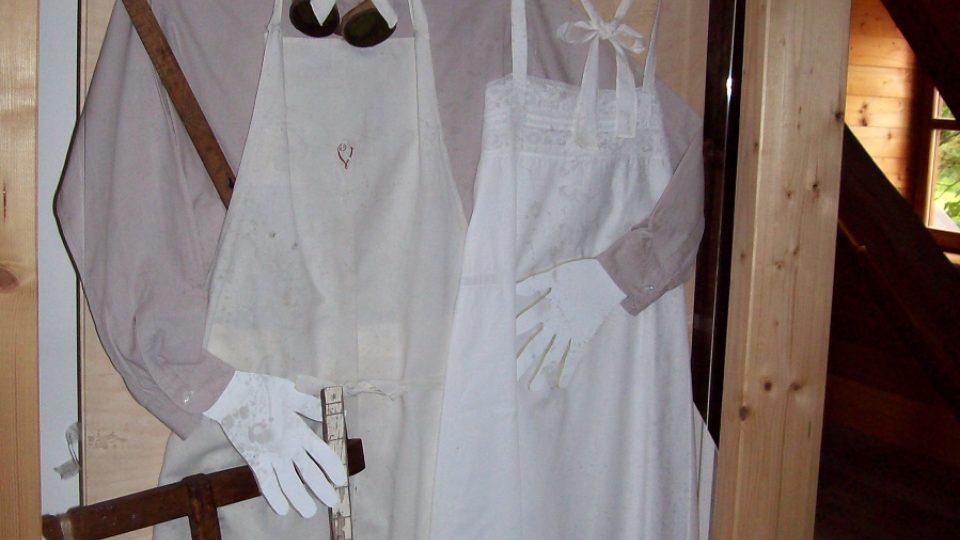 Oděvy v muzeu