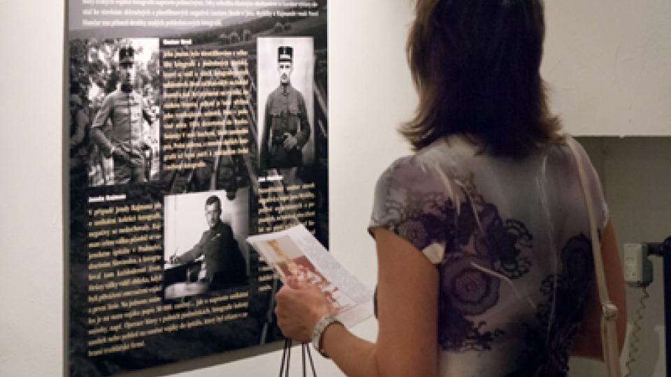 Výstavu Fotografové války můžete vidět v Českém centru Praha