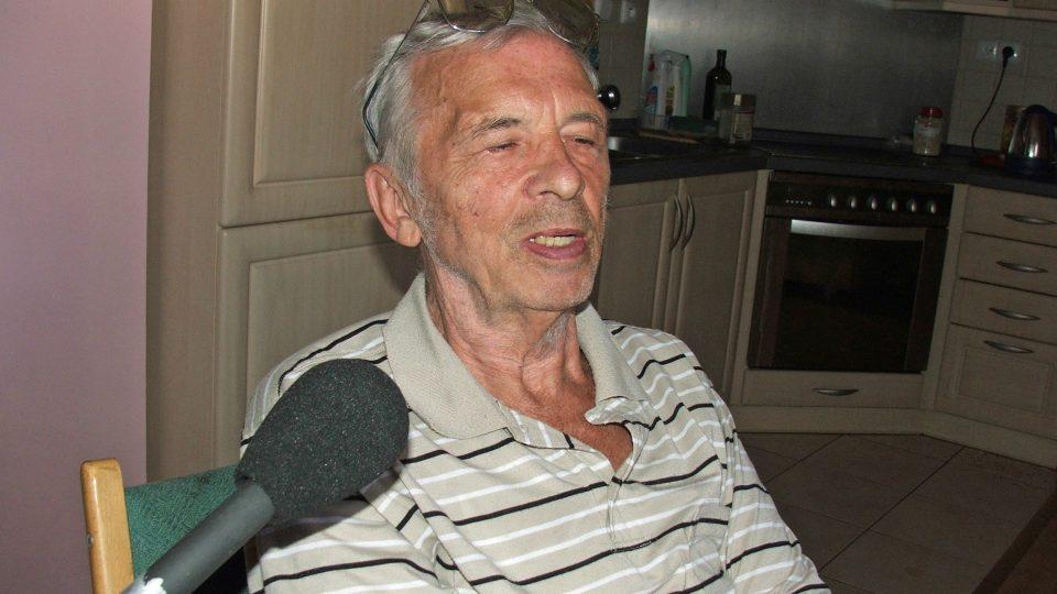 Otakar Hašek v roce 2008