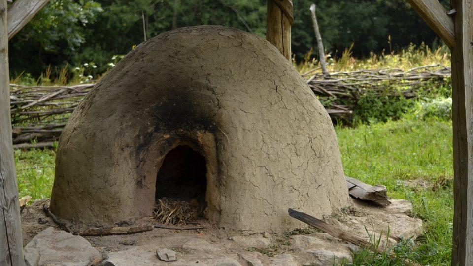 Archeoskanzen Villa Nova - chlebová pec
