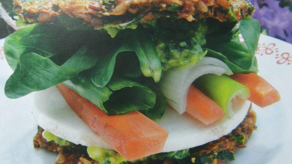 Živá strava - Raw sandwich
