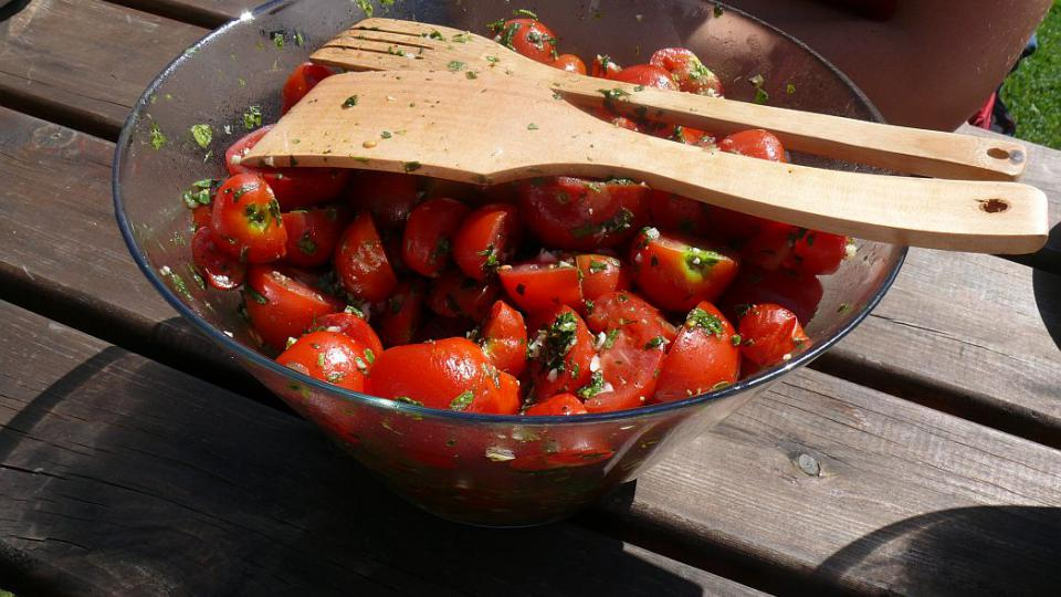 Rajčata v estragonu