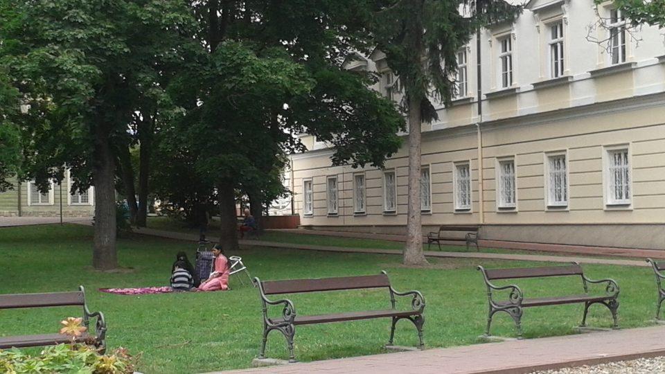 Teplický park ČSA