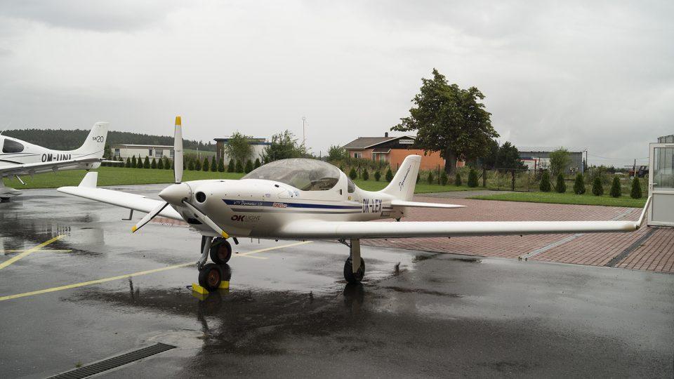 Letadlo Dynamic WT-9, s kterým se Jiří Pruša vydává na své expedice