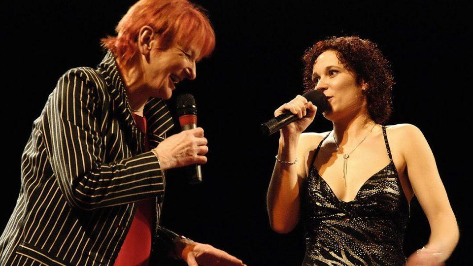 Jazzmenka Jana Koubková s Lucií Peterkovou