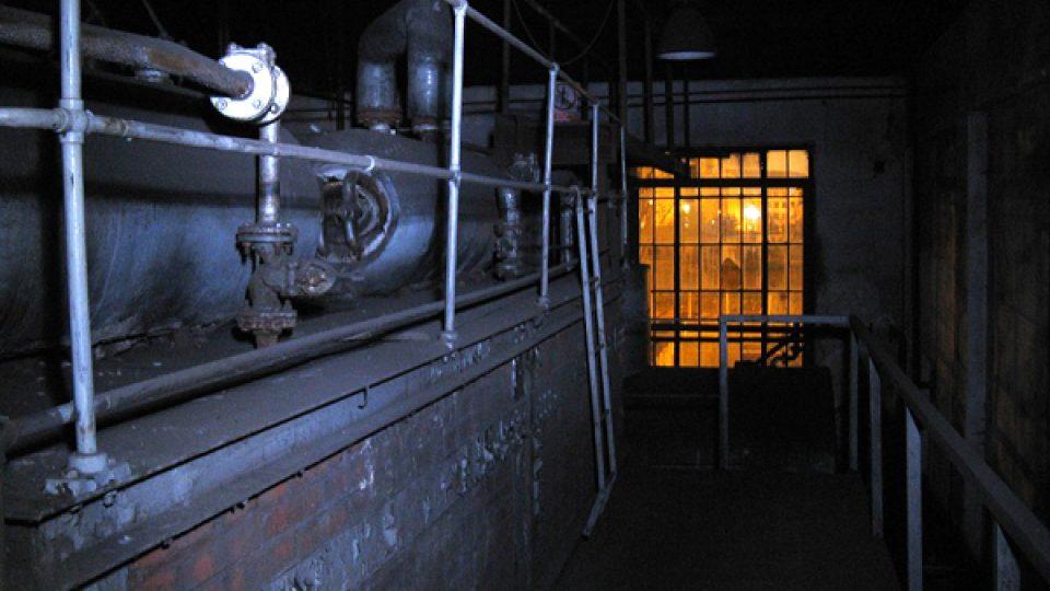 Takhle vypadá interiér kotelny věznice v Plzni
