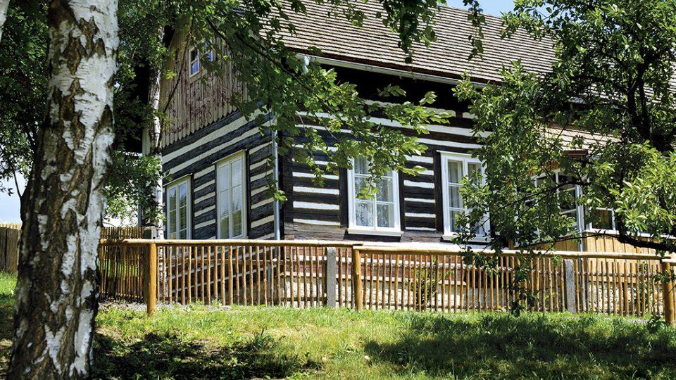 Chaloupka Maxe Švabinského v Kozlově