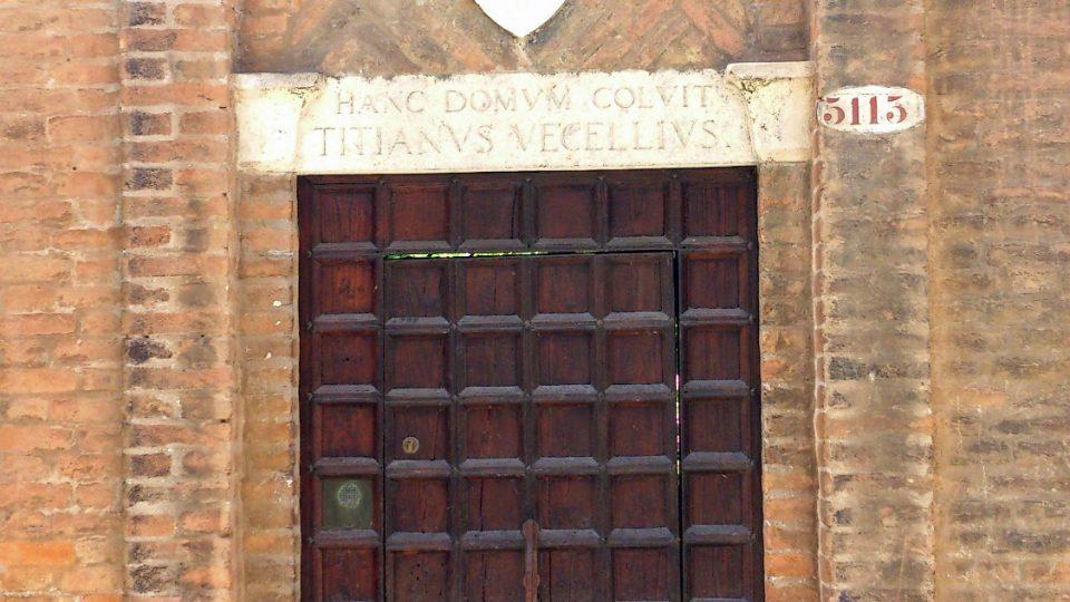Portál do Tizianovy benátské zahrady