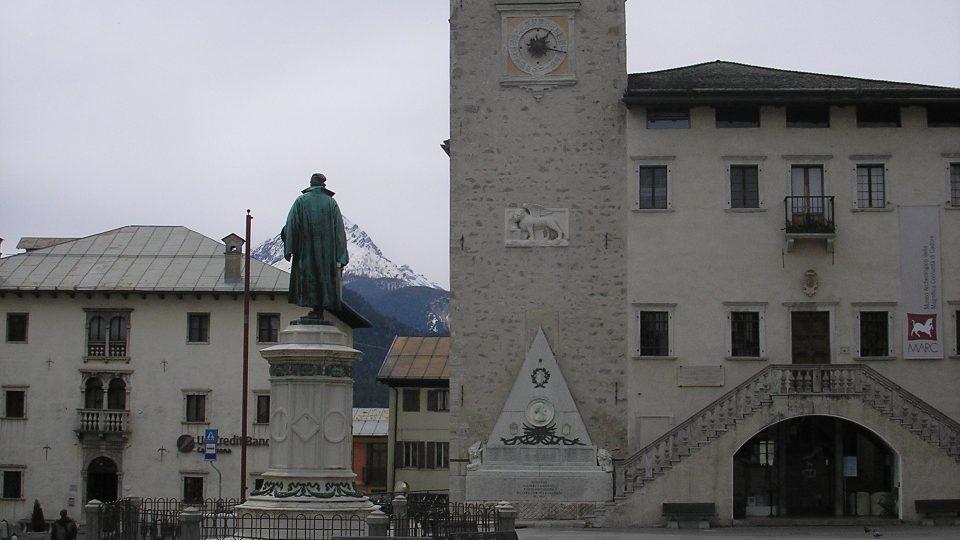 Sídlo Městského úřadu a Vznešené komunity v Pieve di Cadore, která spravuje dědictví rodiny Vecelliových