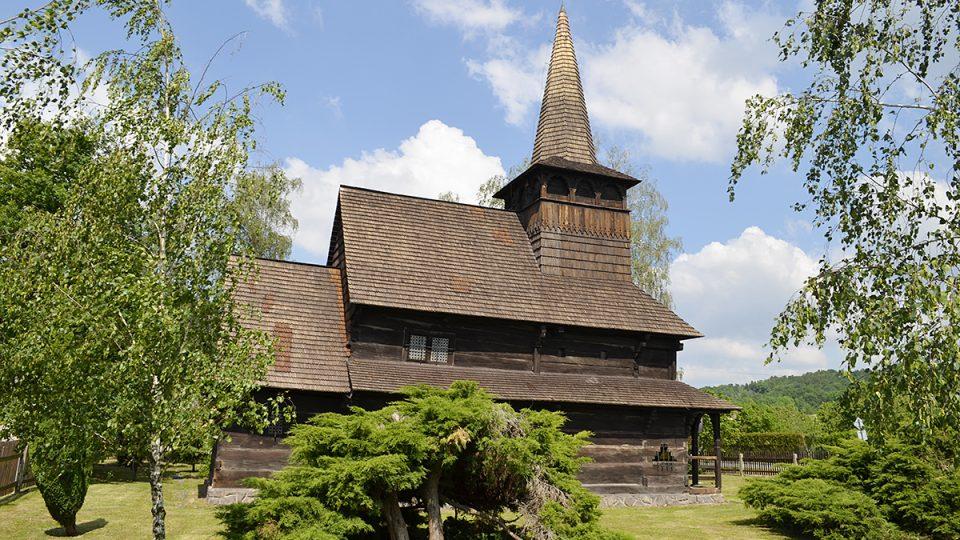 Kostelík Všech svatých v  Dobříkově