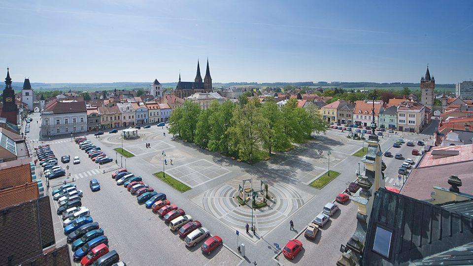 Vysoké Mýto náměstí.Foto Jaroslav Horák