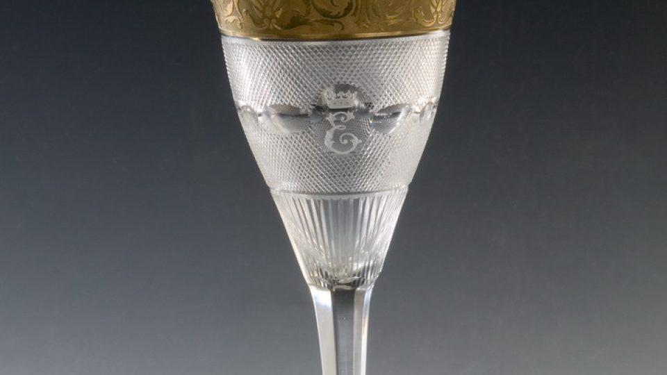 Moser - pohár pro Alžbětu II.