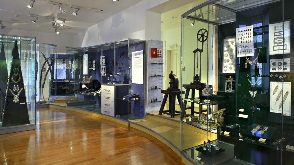 Muzeum skla a bižuterie v Jablonci nad Nisou - Galerie Belveder