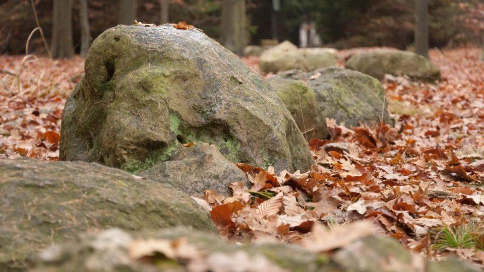 Křemencové kameny vypadají impozantně