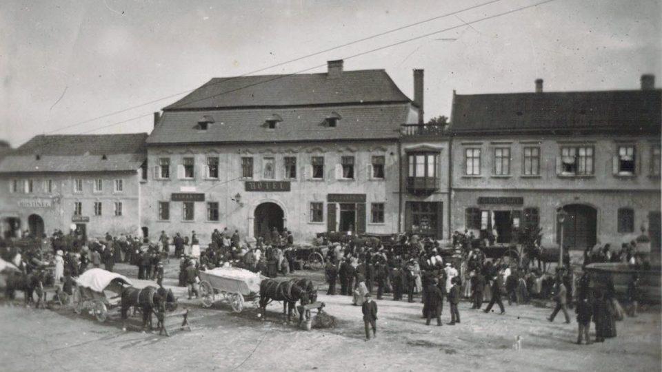 Masarykovo náměstí ve Velké Bíteši