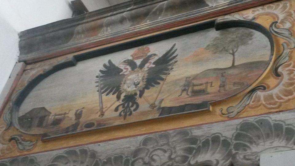 Interiér kostela sv. Marie Magdaleny v Horním Městě.
