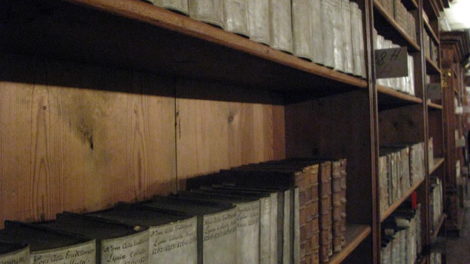 Barokní knihovní sál Klementina