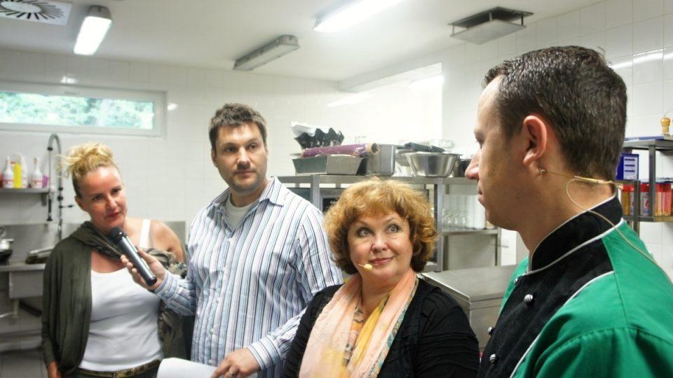 Vendula Svobodová, Patrik Rozehnal, Naďa Konvalinková a Roman Janoušek