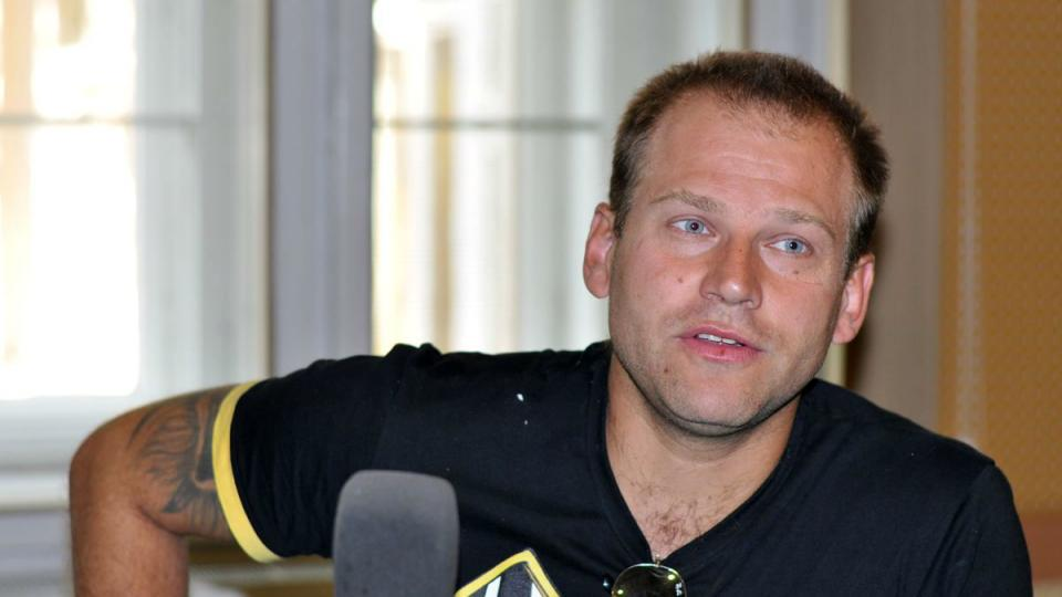 Jiří Berousek ml. ve studiu Reginy