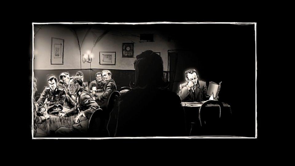 Snímky z animace projektu Československo 38 - 89