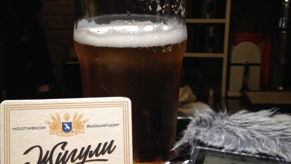 Dal jsem si pivo, které se jmenuje Žiguli