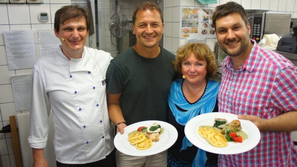 Martin Janoušek, Vojtěch Bernatský, Naďa Konvalinková a Patrik Rozehnal