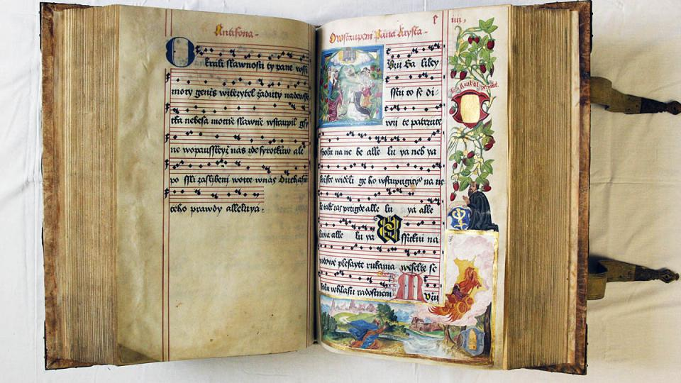 Žlutický kancionál z roku 1558