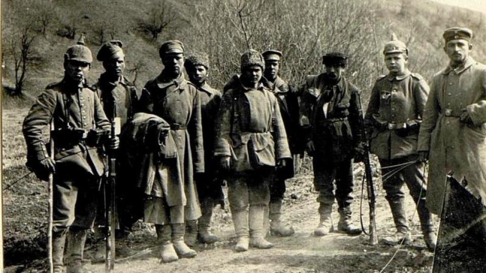 Ruští zajatci na haličské frontě