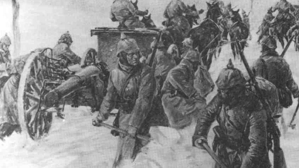 Těžké časy v zimních Karpatech na haličské frontě