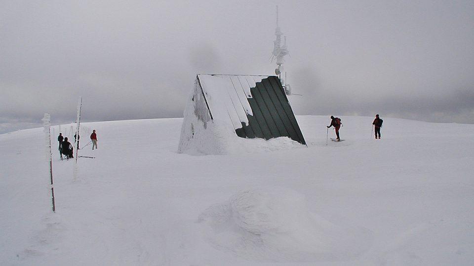 Vysoká hole v zimě