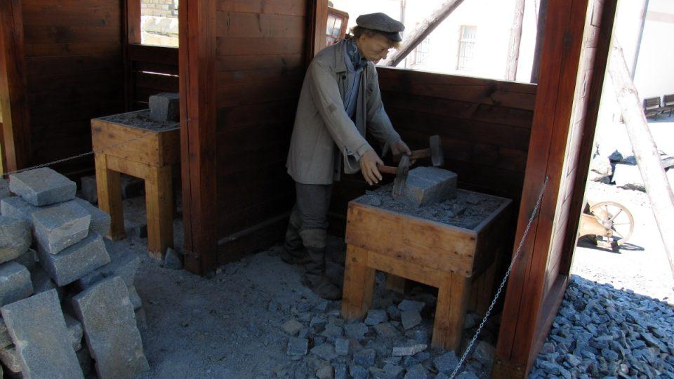 Živobytí kameníků bylo provázeno těžkou prací