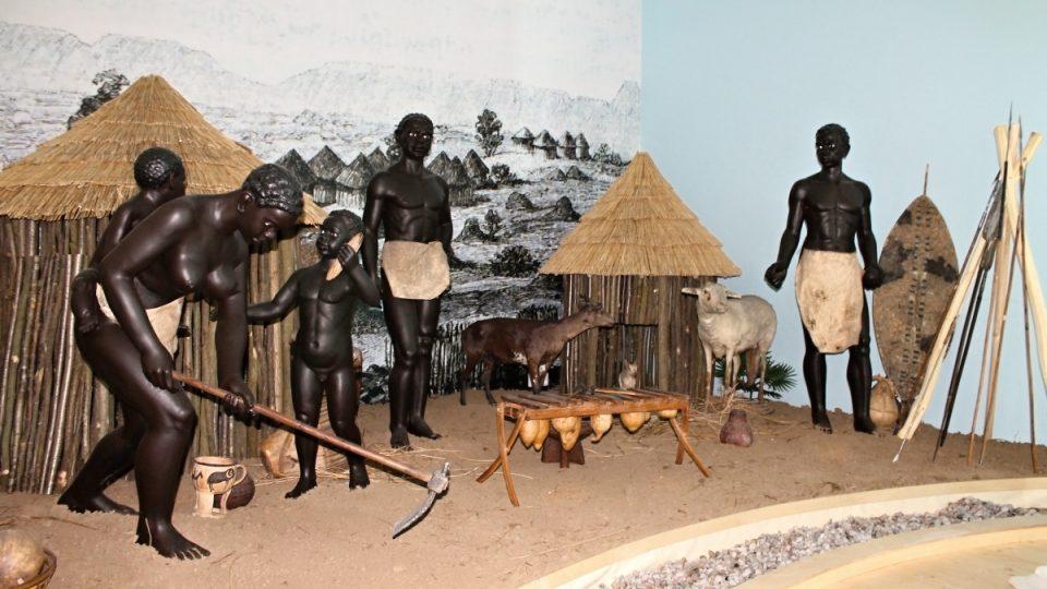 Černoši v domorodé vesnici skutečně vycpaní nejsou. Zahráli si ale ve filmu Velké dobrodružství
