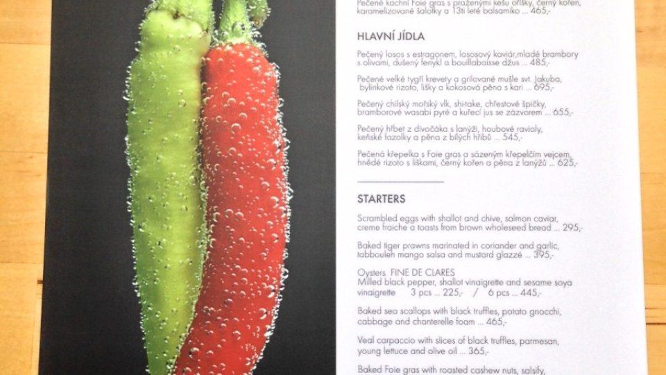 La Veranda - menu Aphrodisiac Foods