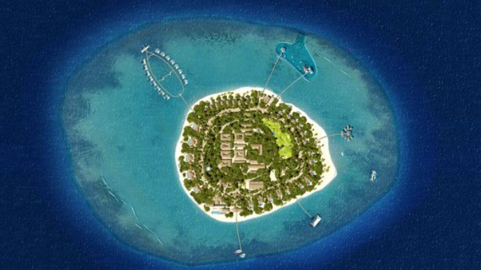 Na ostrově na Maledivách vybudoval Petr Kolář luxusní hotelový komplex