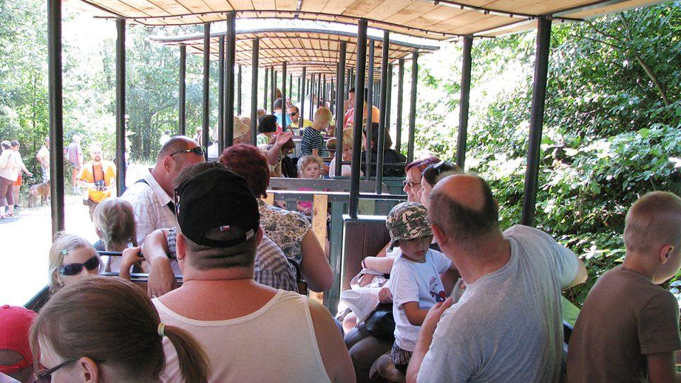 Do jednoho vagónku se vejde až třicet cestujících