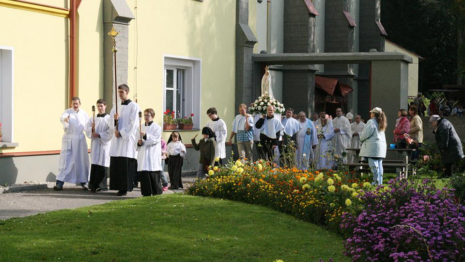 Do Koclířova jezdí poutníci na mariánské poutě