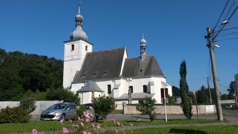 Kostel v Bravanticích