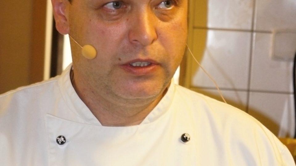 Šéfkuchař Daniel Popelka