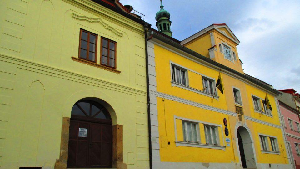 Budova muzea a radnice ve Žluticích