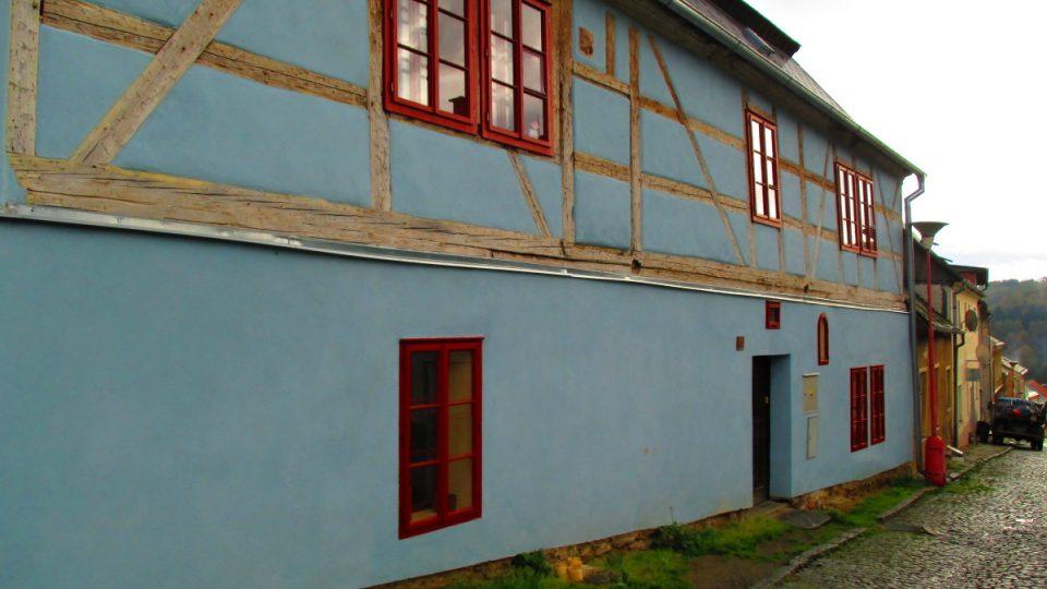 Dům kde zkouší pěvěcký komorní sbor Rosa Coeli