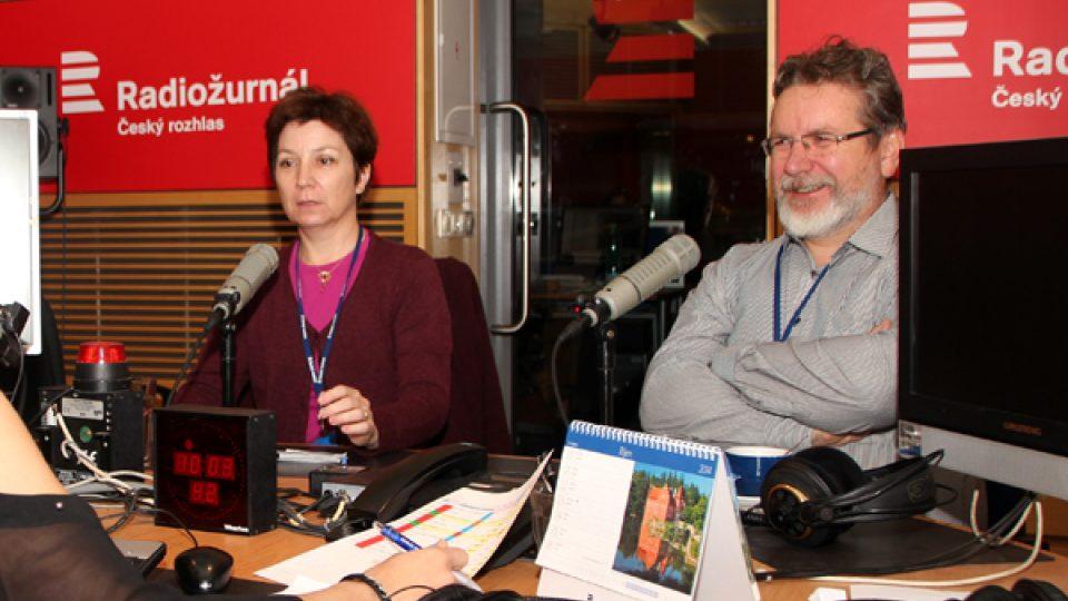 Hana a Miloslav Tenglerovi, sbormistři, kteří pracují s nevidomými